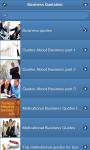 Business Quotation screenshot 1/1
