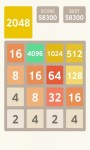 2048 Number Puzzle Game screenshot 1/2