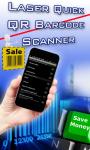 Laser Quick QR Barcode Scanner screenshot 1/3