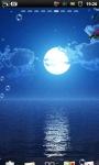Moon Beach at Night Live Wallpaper screenshot 1/6