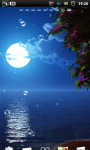 Moon Beach at Night Live Wallpaper screenshot 5/6