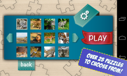 Free Big Cats Jigsaw Puzzle screenshot 3/5