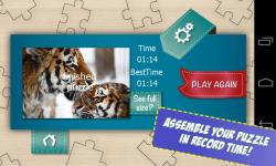 Free Big Cats Jigsaw Puzzle screenshot 4/5
