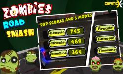 Zombies Road Smash screenshot 2/4