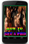 How to Get a PhD screenshot 1/3