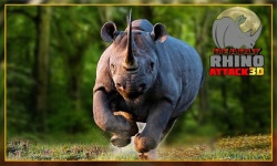 Angry Wild Rhino Attack 3D screenshot 4/4
