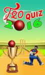 T20 Quiz 2016 screenshot 1/1