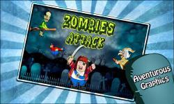 Zombies Attack Shooting Game screenshot 1/5