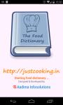 Food Dictionary screenshot 1/5