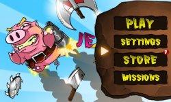 Jetpack Pig Garage Rush screenshot 1/4