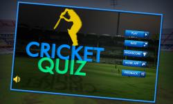 Cricket Quiz Fever screenshot 1/4