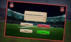 Cricket Quiz Fever screenshot 4/4