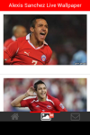 Alexis Sanchez Live Wallpaper screenshot 3/5