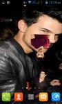 Taylor Lautner Live Wallpaper Best screenshot 2/4