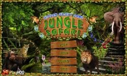 Free Hidden Object Games - Jungle Safari screenshot 1/4
