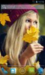 Autumn Girl Live Wallpapers screenshot 1/3
