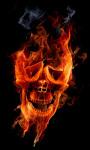 Fire Skull Live Wallpaper 2 screenshot 1/3