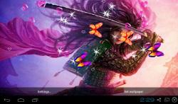3D Samurai Live Wallpapers screenshot 1/4