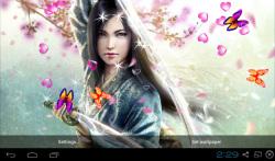 3D Samurai Live Wallpapers screenshot 3/4