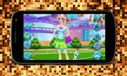 Elsa College Great Dress Up screenshot 1/4