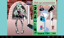 Frankie Stein Dress Up screenshot 4/4