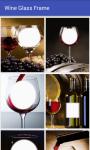Wine glass frame screenshot 1/4