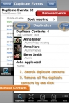 Remove Duplicate Contacts and Events : Contact ... screenshot 1/1