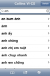 Audio Collins Mini Gem Vietnamese-Czech & Czech-Vietnamese Dictionary screenshot 1/1