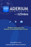 Aderium Companion for Zimbra screenshot 1/1