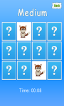 Animals Memory Game For Kids - Free screenshot 2/3