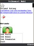Telkomsel Mobi J2ME screenshot 1/3