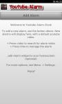 WakeUp Youtube Alarm Clock screenshot 1/3