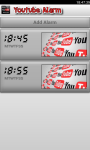 WakeUp Youtube Alarm Clock screenshot 2/3