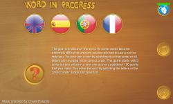 Word In Progress screenshot 1/3