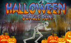 Halloween Jungle Run J2ME screenshot 1/5