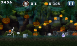 Halloween Jungle Run J2ME screenshot 2/5