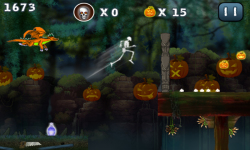 Halloween Jungle Run J2ME screenshot 4/5