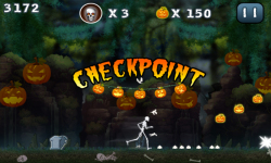Halloween Jungle Run J2ME screenshot 5/5