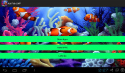3D Koi Aquarium Live Wallpaper screenshot 1/3