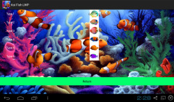 3D Koi Aquarium Live Wallpaper screenshot 3/3