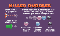 Killer Bubbles Free screenshot 1/5