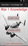 World War 1 Knowledge test screenshot 1/6