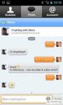 mobile messenger eBuddy screenshot 2/6
