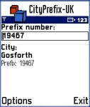 CityPrefix-UK screenshot 1/1
