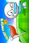 Golf Finger Hit Gold screenshot 1/5