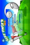 Golf Finger Hit Gold screenshot 2/5