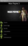 Max Payne 3 - Cheats screenshot 1/3