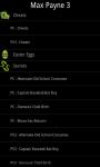 Max Payne 3 - Cheats screenshot 2/3