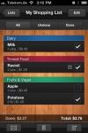 Shopping List - Einkaufsliste screenshot 1/1