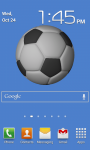 Soccerball Live Wallpaper screenshot 1/1